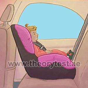 alignment for a baby safety seat